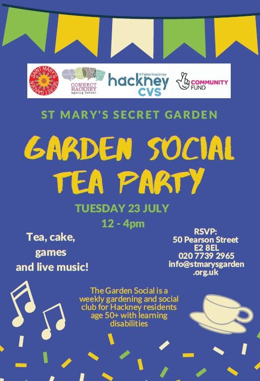 Garden Social T Party
