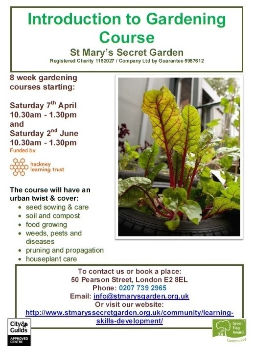 Intro to gardening course
